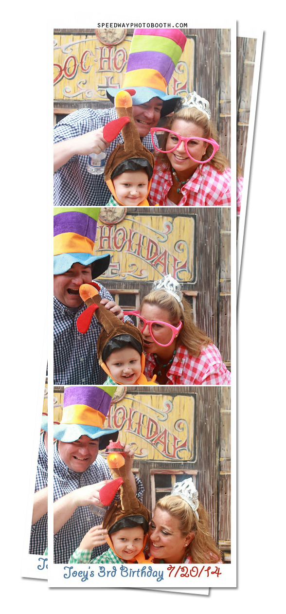 Photo Booth Image from Joey's 3rd Birthday   7.20.2014
