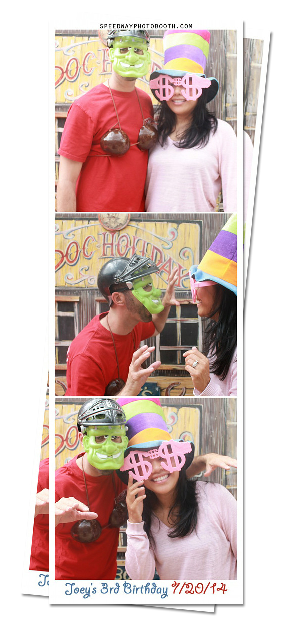 Photo Booth Image from Joey's 3rd Birthday | 7.20.2014