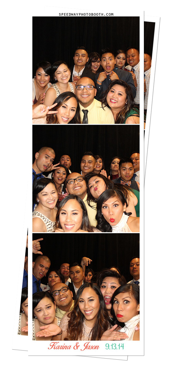 Photo Booth Image from Karina and Jason Wedding | 9.13.2014