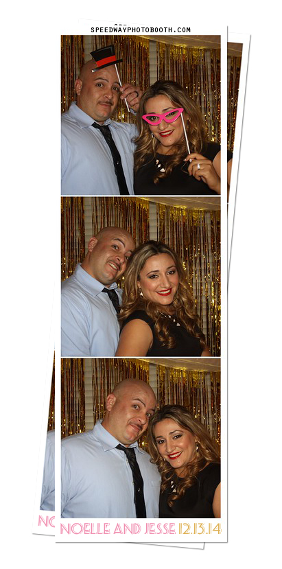 Photo Booth Image from Noelle and Jesse Wedding | 12.13.2014