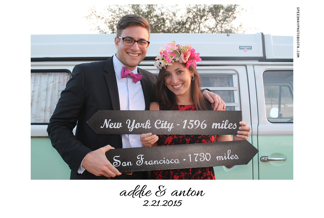 Photo Booth Image from Addie and Anton Wedding | 2.21.2015
