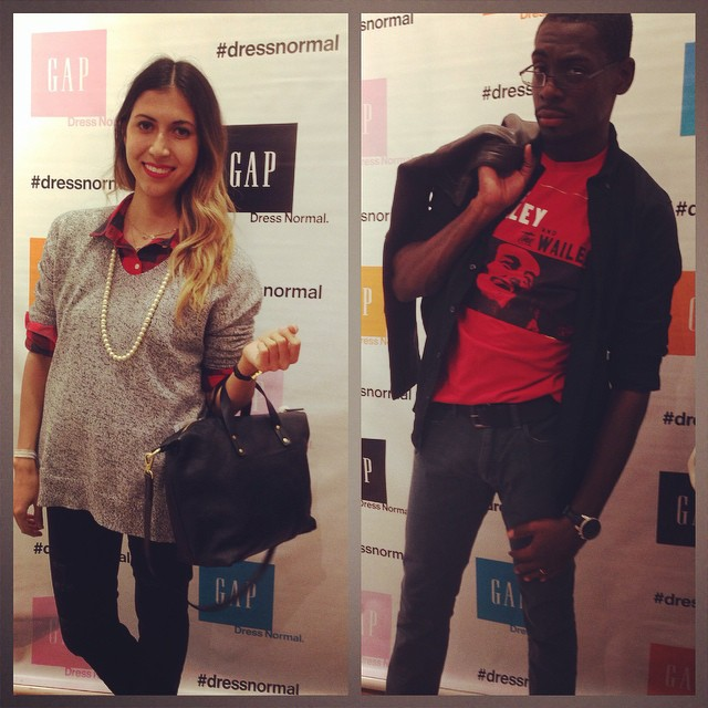 Stylish Guests Pose for the dressnormal Event