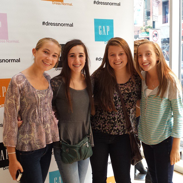 Stylish Tweens Are All Smiles in the Photo Booth