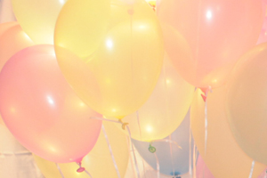 Balloons Used for the Photo Background