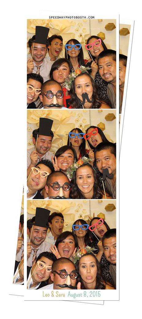 Photo Strip Image from Sara and Leo Wedding